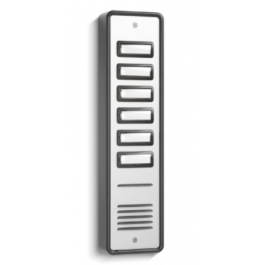 BSTL SPA6 6 Call Button Aluminium Surface Audio Entry Panel