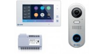 CDVI CDV4791S-DX-W 1 Way Video Entry Kit with Mobile APP