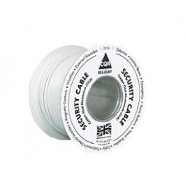6 Core Alarm Cable 100M Drum White -CQR CCA