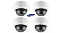 Samsung SCV-2081R High Resolution Dome Pack of 4