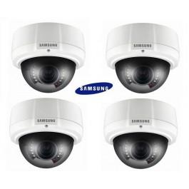 "Samsung SCV-2081R Dome Camera 1//3/"" High Res 600TVL IR LED 2.8-10mm Vandal Proo"