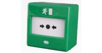 CQR FP3/GR/DP Green Resettable Callpoint