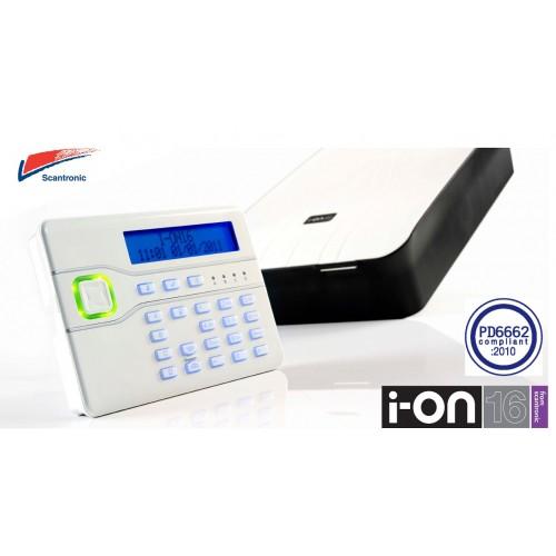 Scantronic I-ON16 Intruder Alarm Panel With I-KP01 Keypad
