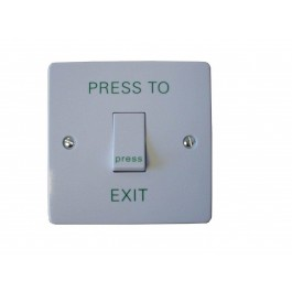 CDVI RTE001S 1 Gang Exit Switch