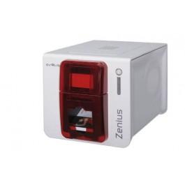 Evolis Zenius Classic Red ID Card Printer
