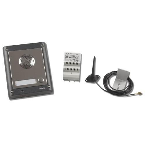 Videx smk1s 1 way access control audio kit videx 4k1gsm 1 way flush gsm intercom kit asfbconference2016 Images