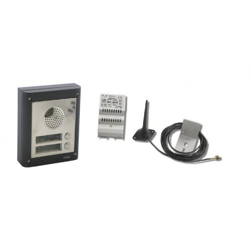 videx 4k2gsm 2 way flush gsm intercom kit. Black Bedroom Furniture Sets. Home Design Ideas