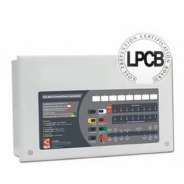 C-TEC CFP704-2 CFP Alarmsense 4 Zone Fire Panel (Two Wire)