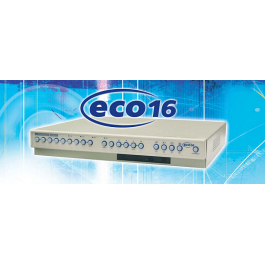 Dedicated Micros ECO16CD-300GB CCTV DVR