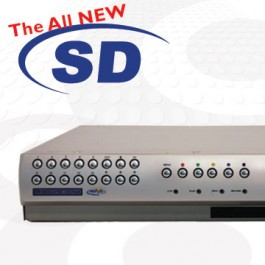 Dedicated Micros SD16MED 16 Channel 1TB CCTV DVR