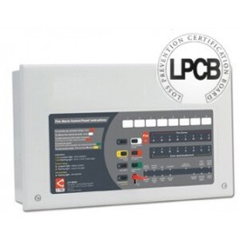 C-tec CFP708-4 Standard Eight Zone Fire Alarm Panel