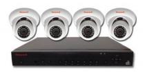Honeywell HEN04111EBX 4x IR 1080p Ball Cameras with 1TB NVR Kit