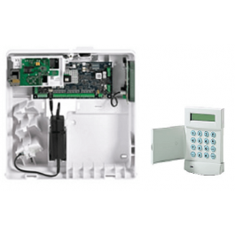 Galaxy Flex FX020 control panel with Mk7 Keypad Grade 2 C005-E2-K01