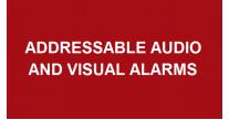 Addressable Audio & Visual Alarms