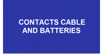 Contacts, Cable & Batteries