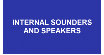 Internal Sounders and Speakers
