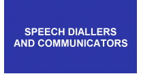 Speech Diallers & Communicators