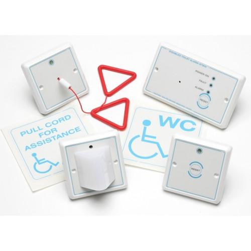 rgl dta disabled toilet alarm kit