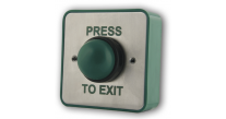 "RGL EBGBWC02/PTE ""Press to Exit"" Green Dome Exit Button"