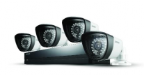 Samsung SDS-P3042 4 Channel All in One CCTV System