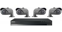 Samsung HD CCTV Kit SRN-472S and 4 x SNO-6011R 1080P Bullet Cameras