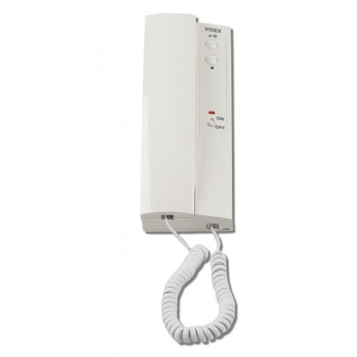 videx 3102 intercom access control handset. Black Bedroom Furniture Sets. Home Design Ideas